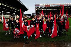 Flag Bearers - Photo mandatory by-line: Dougie Allward/JMP - Tel: Mobile: 07966 386802 29/12/2012 - SPORT - FOOTBALL - Ashton Gate - Bristol -  Bristol City v Peterborough United - Championship.