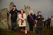 Eclipse watching at the Callanish standing stones on the Isle of Lewis shot for the Scottish Daily Mail