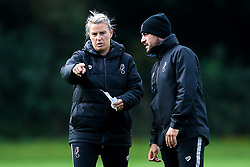 Bristol City Women Manager Tanya Oxtoby and Marco Chiavetta during training at Failand - Mandatory by-line: Robbie Stephenson/JMP - 26/09/2019 - FOOTBALL - Failand Training Ground - Bristol, England - Bristol City Women Training