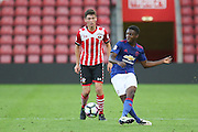 Tosin Kehinde of Manchester United U23's during the Under 23 Premier League 2 match between Southampton and Manchester United at St Mary's Stadium, Southampton, England on 22 August 2016. Photo by Phil Duncan.