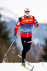 January 2, 2018 - Oberstdorf, GERMANY - MARTIN JOHNSRUD SUNDBY of Norway during a training session at the Tour de Ski in Oberstdorf, Germany. (Credit Image: © Jon Olav Nesvold/Bildbyran via ZUMA Wire)