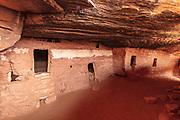 Courtyard in Moon House Ruins on the Cedar Mesa of Utah