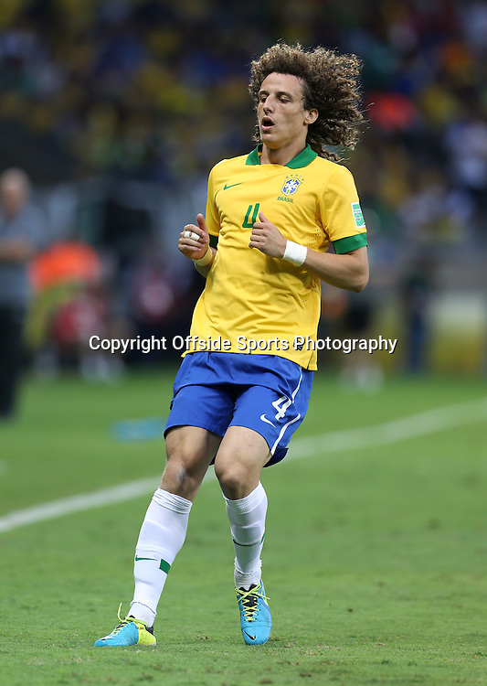 26th June 2013 - FIFA Confederations Cup 2013 (Semi-Final) - Brazil v Uruguay - David Luiz of Brazil - Photo: Simon Stacpoole / Offside.