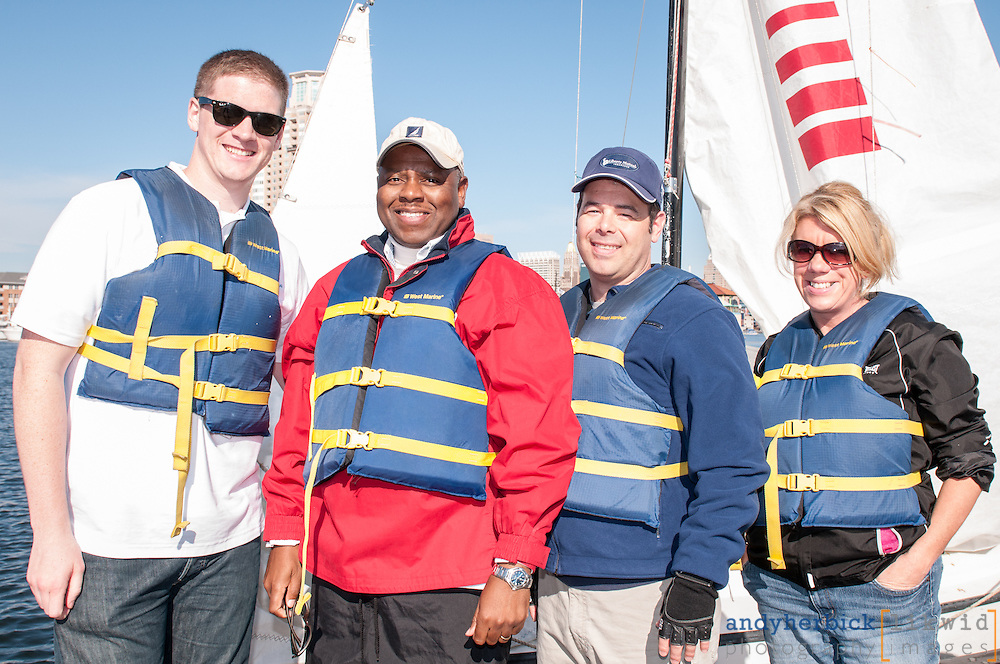 OCTOBER 17, 2014 - Baltimore, MD, USA - The 21st Annual RCM&D Regatta held on October 17, 2014 at the Downtown Sailing Center on Baltimore's Inner Harbor. - IMAGE © 2013 Andy Herbick | www.andyherbickphotography.com - ALL RIGHTS RESERVED.