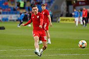 Wales midfielder Harry Wilson during the UEFA European 2020 Qualifier match between Wales and Azerbaijan at the Cardiff City Stadium, Cardiff, Wales on 6 September 2019.