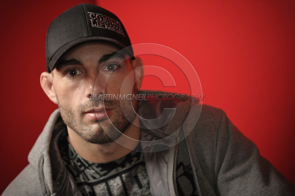 "A portrait of mixed martial arts athlete Mike ""Quick"" Swick"