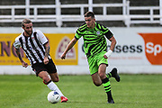 Forest Green Rovers Liam Kitching(20) runs forward during the Pre-Season Friendly match between Bath City and Forest Green Rovers at Twerton Park, Bath, United Kingdom on 27 July 2019.
