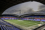 Macron Stadium during the Sky Bet Championship match between Bolton Wanderers and Milton Keynes Dons at the Macron Stadium, Bolton, England on 23 January 2016. Photo by Simon Davies.