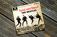 London, England - June 15, 2017: Twist and Shout Record Single first released  on 22nd March 1962 on Parlophone label and produced by George Martin.