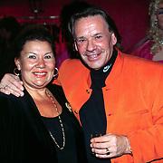 Opening Pushkin Red, Theo Sijthoff en vrouw Tini
