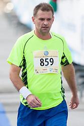 Athletes compete during 19th Ljubljana Marathon 2014 on October 26, 2014 in Ljubljana, Slovenia. Photo by Urban Urbanc / Sportida.com