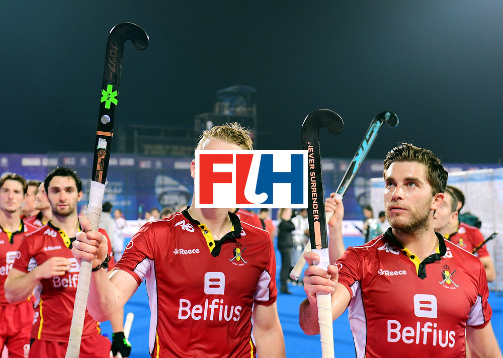 Odisha Men's Hockey World League Final Bhubaneswar 2017<br /> Match id:18<br /> Belgium v Spain<br /> Foto: Belgium wins from Spain<br /> COPYRIGHT WORLDSPORTPICS FRANK UIJLENBROEK