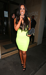 MTV's Geordie Shore star Vicky Pattison attends the Yahoo! Wireless pre-party held at The Mayfair Hotel in London, UK. 19/06/2013<br />BYLINE MUST READ : GOTCHAIMAGES.COM<br /><br />Copyright by © Gotcha Images Ltd. All rights reserved.<br />Usage of this image is conditional upon the acceptance <br />of Gotcha Images Ltd, terms and conditions available at<br />www.gotchaimages.com