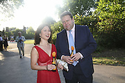 Lord Strathclyde and Mrs. Henry Angust, Conservative Party, Summer party, Royal Hospital Chelsea, Royal Hospital Road, London, SW3,3 July 2006. ONE TIME USE ONLY - DO NOT ARCHIVE  © Copyright Photograph by Dafydd Jones 66 Stockwell Park Rd. London SW9 0DA Tel 020 7733 0108 www.dafjones.com