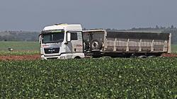 November 17, 2018 - Campo MourãO, Brazil - CAMPO MOURÃO, PR - 17.11.2018: TRANSPORTE DE CARGAS NO PARANÁ - Freight transportation on the BR-487 highway in Campo Mourão, in the Center-West Region of Paraná. In the photo, cargo trucks transit the highway BR-487. (Credit Image: © Dirceu Portugal/Fotoarena via ZUMA Press)