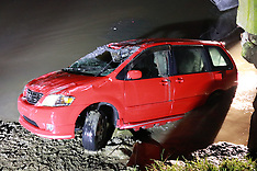 Auckland-Car found submerged off Sellwood Road, henderson
