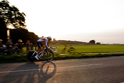 Jeanne Korevaar (Rabo Liv) at the 26.4 km Stage 2 Team Time Trial of the Boels Ladies Tour 2016 on 31st August 2016 in Gennep, Netherlands. (Photo by Sean Robinson/Velofocus).