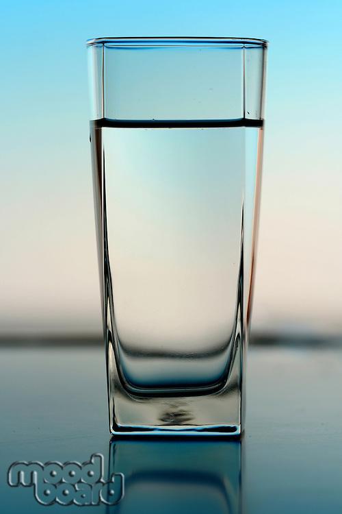 Glass of water - studio shot