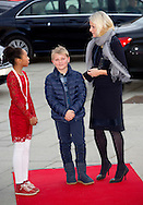 Oslo, 10-12-2015<br /> <br /> <br /> Crown Princess Mette -Marit attends with her son Prince Sverre Magnus the Save the Children&rsquo;s Peace Prize Party<br /> Royalportraits Europe/ Bernard Ruebsamen