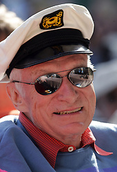 September 27, 2017 - FILE - HUGH MARSTON HEFNER (born: April 9, 1926 died: September 27, 2017) was an American men's lifestyle magazine publisher, businessman, and playboy. A multi-millionaire, his net worth at the time of his death was over $43 million due to his success as the founder of Playboy. Hefner was also a political activist and philanthropist active in several causes and public issues. Pictured: September 27, 2017 - FILE - HUGH MARSTON HEFNER (born: April 9, 1926 died: September 27, 2017) was an American men's lifestyle magazine publisher, businessman, and playboy. A multi-millionaire, his net worth at the time of his death was over $43 million due to his success as the founder of Playboy. Hefner was also a political activist and philanthropist active in several causes and public issues. Pictured: Jun 12, 2010 - Los Angeles, California, U.S. - HUGH M. HEFNER of Playboy Enterprises at Hollywood Bowl during the 32nd anniversary Playboy Jazz Festival on Saturday in Hollywood. (Credit Image: © Ringo Chiu/ZUMApress.com)