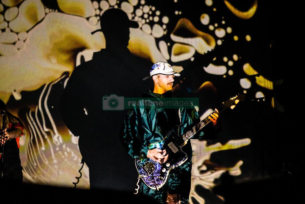 July 3, 2018 - Milan, Milan, Italy - John Gourley of the Portugal. The Man performing live at Fabrique Milan Italy  (Credit Image: © Roberto Finizio/NurPhoto via ZUMA Press)