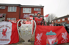 Liverpool Fans Prepare for Champions League final 2018 - 09 May 2018
