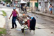 Street scene in Holguin, Cuba.