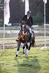 De Cleene Pieter, (BEL), Joy Chin van t Moerven<br /> BK 6 Years old Horses<br /> CNC Nokere 2015<br /> © Hippo Foto - Dirk Caremans<br /> 02/08/15