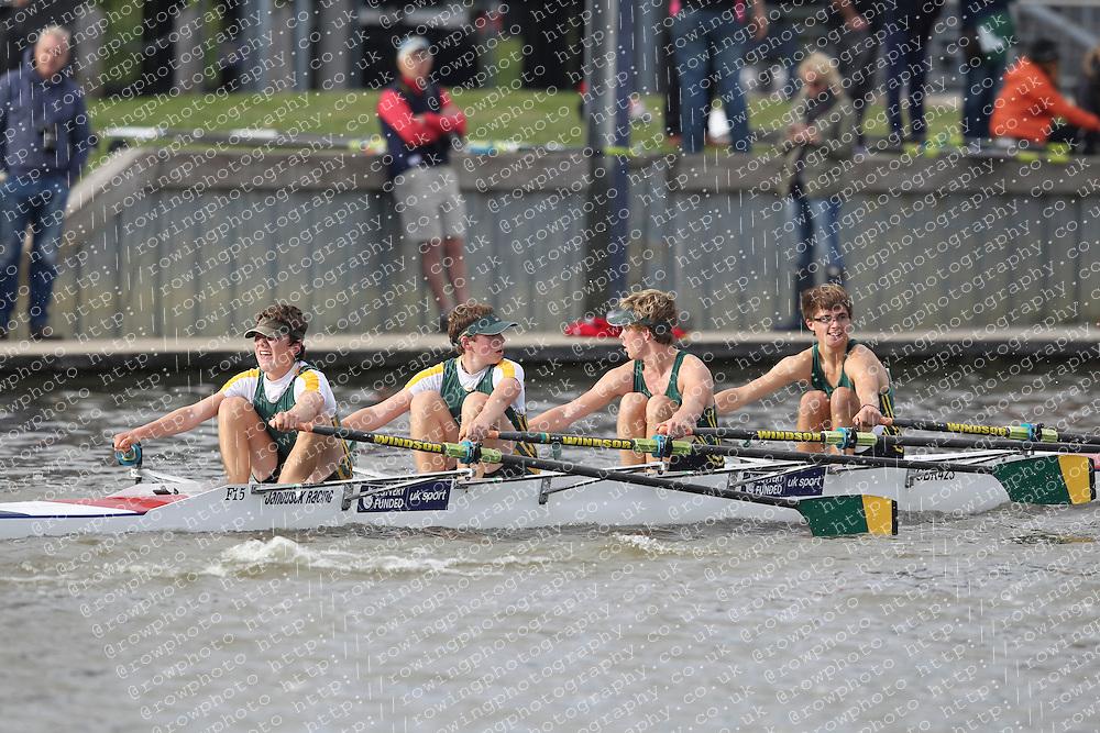 2012.09.29 Wallingford Long Distance Sculls 2012. Division 3. J16A 4x-. Windsor Boys School Boat Club.