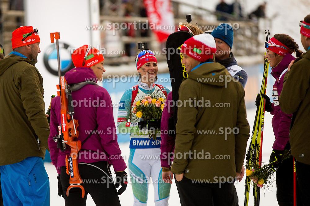 Andreja Mali (SLO) during Women 4x6 km Relay at day 3 of IBU Biathlon World Cup 2016/2017 Pokljuka, on December 11, 2016 in Rudno polje, Pokljuka, Slovenia. Photo by Žiga Zupan / Sportida