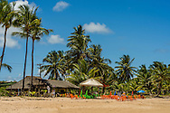 Point do Surf Restaurant, Taipu de Fora beach, in the brazilian state of Bahia. The restaurant serves homemade style food from Bahia, known by its variety of local seafood. Diego Murray / 4See