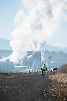 Paper mill in Port Townsend, WA