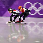Track Speed Skating: Ladies' 1,500m Final - 17 February 2018
