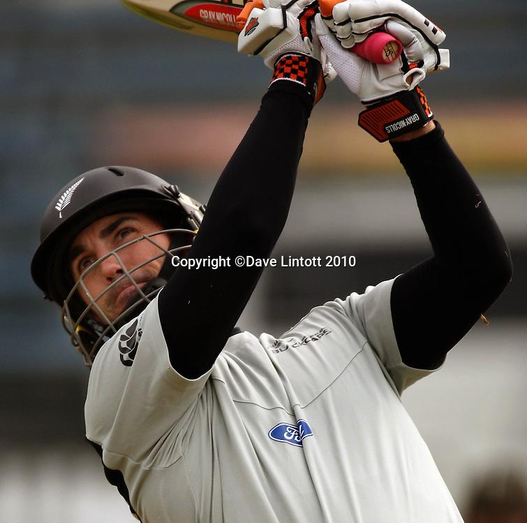 Mathew Sinclair.<br /> Black Caps cricket training at Allied Prime Basin Reserve, Wellington. Wednesday, 18 March 2010. Photo: Dave Lintott/PHOTOSPORT
