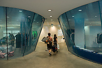 Comme des garcons flagship store in Aoyama, Tokyo, Japan. Architect: Future Systems.