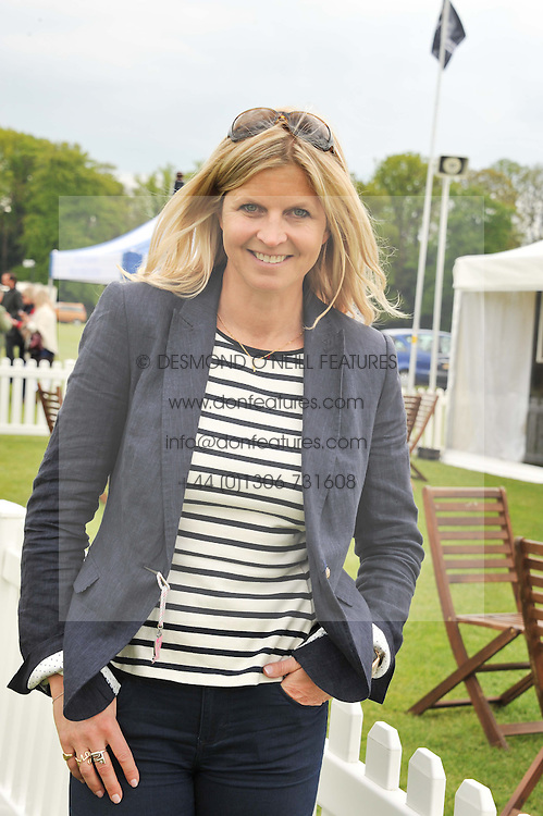 MARCHIONESS OF MILFORD HAVEN at the St.Regis International Polo Cup between England and South America held at Cowdray Park, West Sussex on 18th May 2013.  South America won by 11 goals to 9 goals.