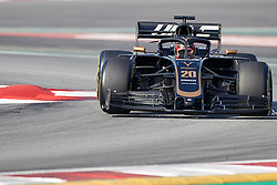 February 28, 2019 - Montmelo, BARCELONA, Spain - Kevin Magnussen (Rich Energy Haas F1 Team) VF19 car, seen in action during the winter testing days at the Circuit de Catalunya in Montmelo (Catalonia), Thursday, February 28, 2019. (Credit Image: © AFP7 via ZUMA Wire)