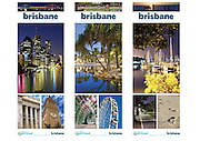 Pullup banners created for Tourism Queensland - feature Brisbane, Southbank, Wynnum/Manly