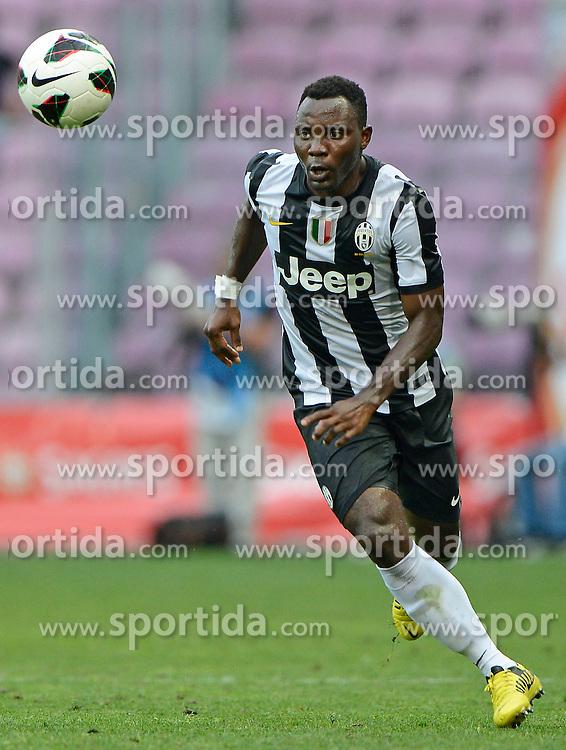 Football: Italy, Serie A, Juventus Turin.Kwadwo Asamoah.© pixathlon..ITALY OUT !