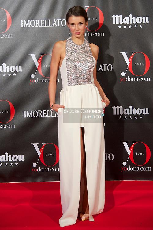 Natasha Yarovenko attends 'Yo Dona' Magazine's Mask Party at Casino on 18 February, 2013 in Madrid