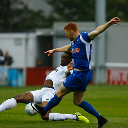 during the National League match between Dover Athletic FC and Salford City FC at Crabble Stadium, Kent on 06 October 2018. Photo by Matt Bristow.