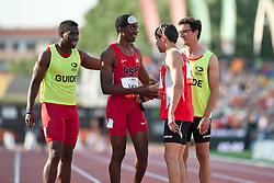 Behind the scenes, , 4x100m, T11-13, 2013 IPC Athletics World Championships, Lyon, France