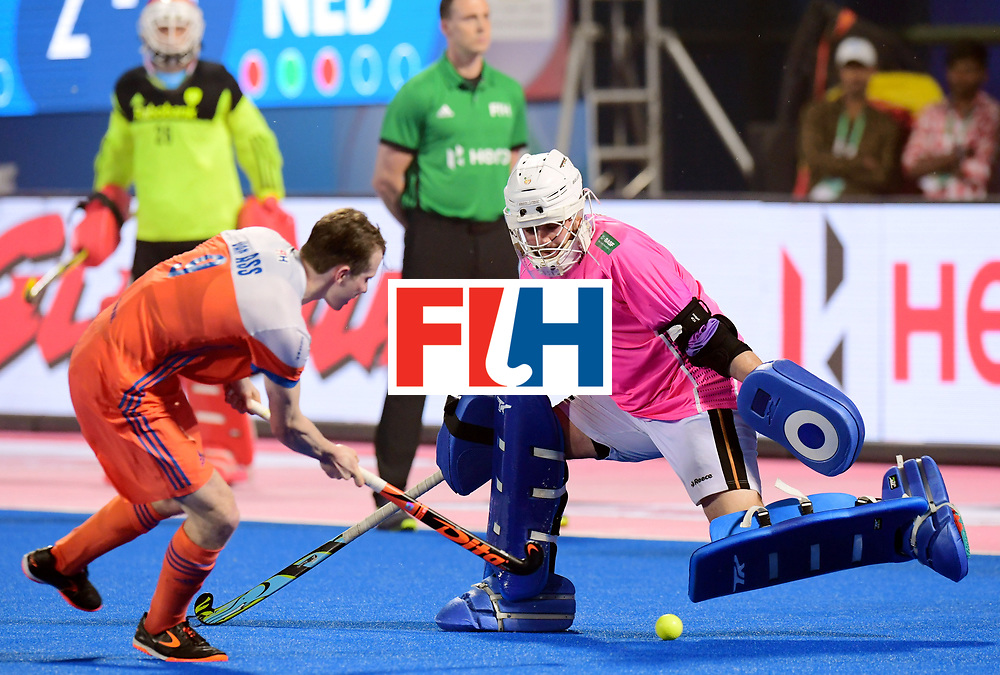 Odisha Men's Hockey World League Final Bhubaneswar 2017<br /> Match id:16<br /> Germany v Netherlands<br /> Foto: Shoot Out <br /> Seve van Ass (Ned) scored against keeper Tobias Walter (Ger) <br /> COPYRIGHT WORLDSPORTPICS FRANK UIJLENBROEK
