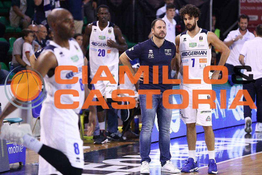 Vitali Luca e Diana Andrea, Germani Basket Brescia vs Stelmet Zielona Gora, 2 edizione Trofeo Roberto Ferrari, PalaGeorge di Montichiari 22 settembre 2017