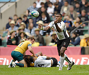Twickenham, England. action from, the FIJI vs AUS match at the London Sevens Rugby, Twickenham Stadium, Sun, 27/05/2007 [Credit Peter Spurrier/ Intersport Images]