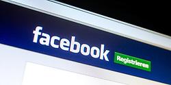 THEMENBILD - Webseite von Facebook, Logo und Registrieren Button aufgenommen am 29.01.2015, Österreich // Website of Facebook, Logo and registration Button in German, Austria on 2015/01/29. EXPA Pictures © 2015, PhotoCredit: EXPA/ JFK