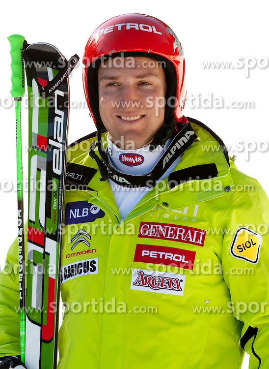 Andrej Sporn during media day of Slovenian Alpine Ski team on October 17, 2011, in Rudno polje, Pokljuka, Slovenia. (Photo by Vid Ponikvar / Sportida)
