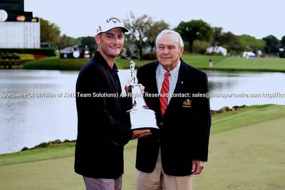22 March 2015: Matt Every back to back Arnold Palmer Invitational winner during the final round of the Arnold Palmer Invitational at Arnold Palmer's Bay Hill Club & Lodge in Orlando, Florida.