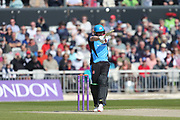 Worcestershire's Riki Wessels  during the Royal London 1 Day Cup match between Lancashire County Cricket Club and Worcestershire County Cricket Club at the Emirates, Old Trafford, Manchester, United Kingdom on 17 April 2019.