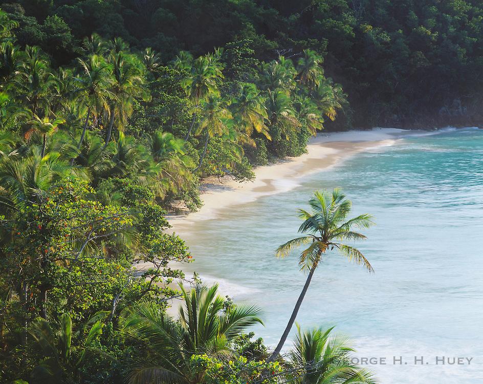 6201-1006 ~ Copyright: George H. H. Huey ~ Hawknest Bay, St. John's Island. Virgin Islands National Park. U.S. Virgin Islands.